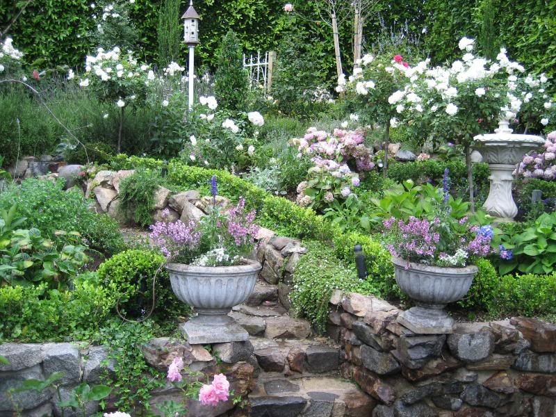 garden design ideas railway sleepers small english garden design